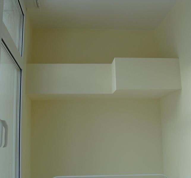 установка через балкон