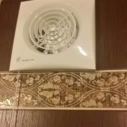 S&P SILENT-100 CMZ малошумный вентилятор для ванной и санузла
