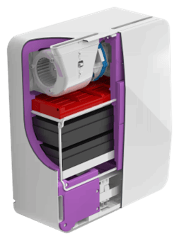 Бризер Tion 3S проветриватель и очиститель в одном приборе