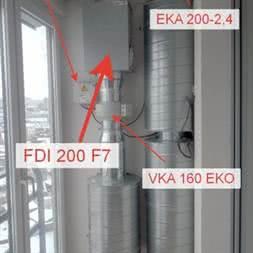 Нагреватель EKA 160-1,8-1f купить в Минске. Подогрев чистого воздуха