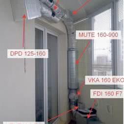 Шумоглушитель для канальной вентиляции MUTE 125/1200 купить в Минске