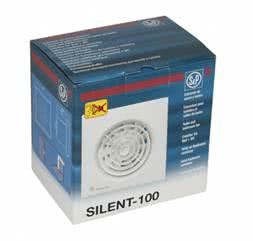 Накладной вентилятор S&P SILENT-100 CRZ купить в Минске. Цена от первого поставщика