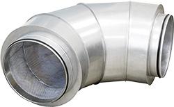 Угловой шумоглушитель CSU-125