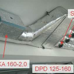Нагреватель EKA 160-1,2-1f купить в Минске. Подогрев чистого воздуха