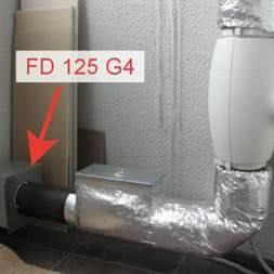 Фильтр канальный FD 200 G4 для приточной вентиляции купить в Минске
