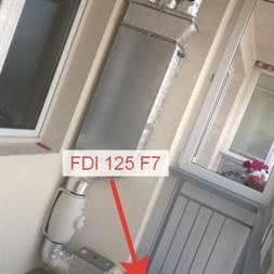 Фильтр канальный FDI 200 M5