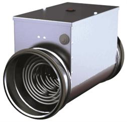 Нагреватель EKA 100-1,2-1f  купить в Минске. Подогрев чистого воздуха