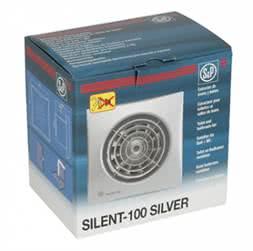 Купить S&P SILENT-100 CZ SILVER малошумный вентилятор для квартиры или дома в Минске